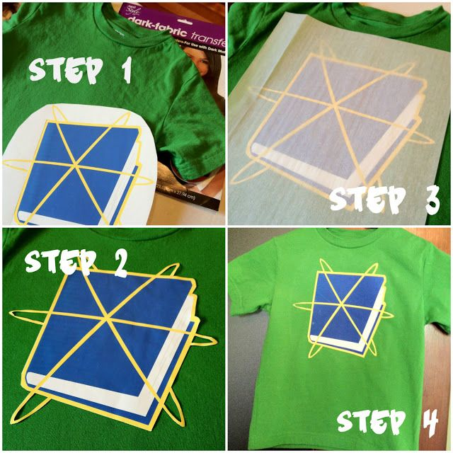 Super Why shirt and cape iron on transfer paper instructions.