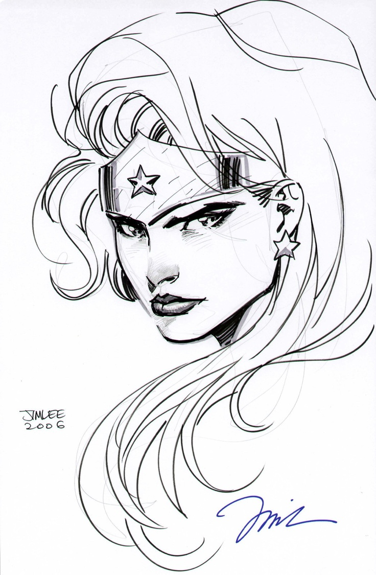 25+ best ideas about Wonder Woman Drawing on Pinterest.