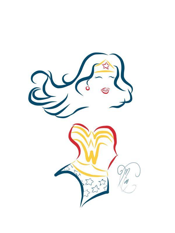 1000+ ideas about Wonder Woman Tattoos on Pinterest.