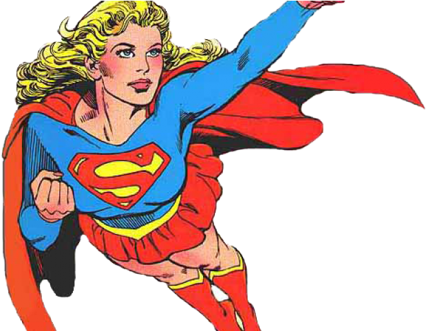 Super Girl Clipart Transparent Background.