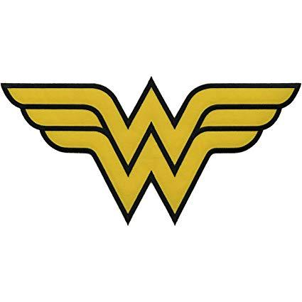Application DC Comics Originals Wonder Woman Logo Back Patch.