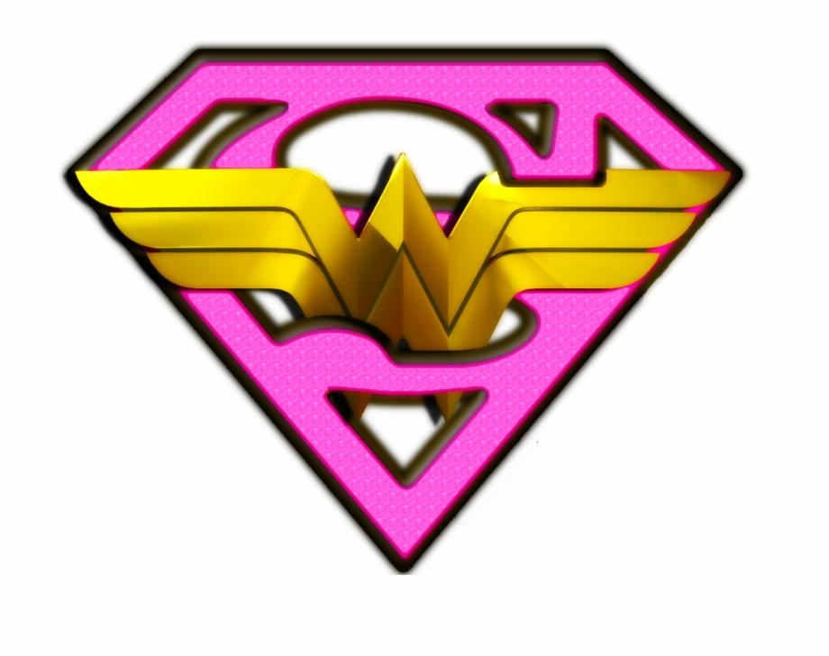 Pink Superman Logo Png.