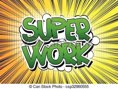 Super Work Clipart.