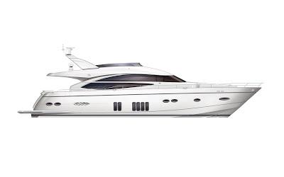 Princess Luxury Sports Yachts.