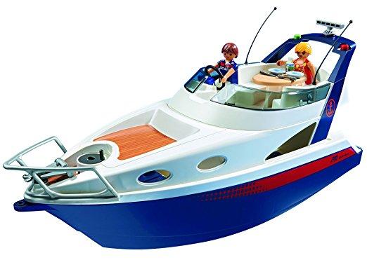 Amazon.com: PLAYMOBIL Luxury Yacht Play Set: Toys & Games.