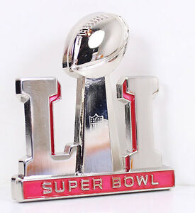 Details about Superbowl LI 51 Super Bowl Large 3D Pin New England Patriots  Atlanta Falcons.
