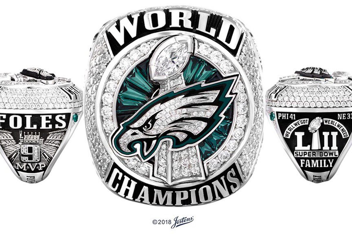 Super Bowl Ring Silhouette.