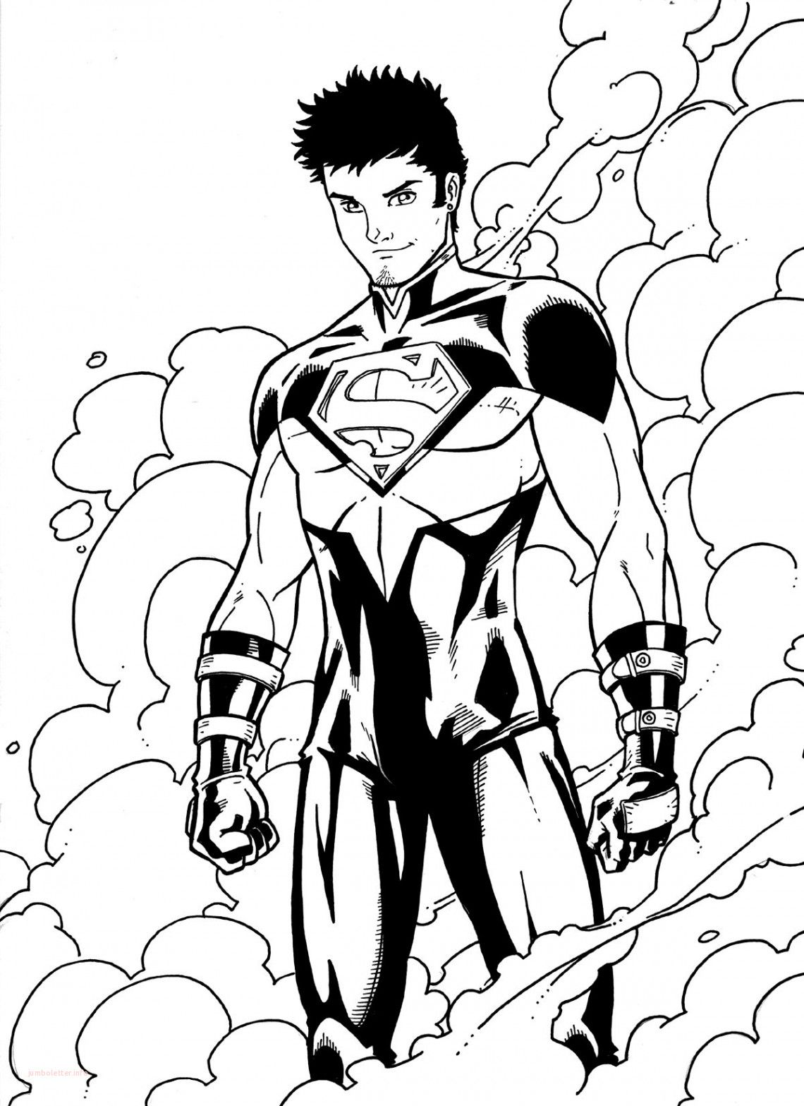 Superboy Coloring Pages.