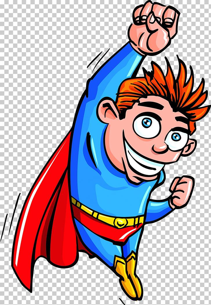 Clark Kent Superboy Superhero Cartoon, Superman comics PNG.