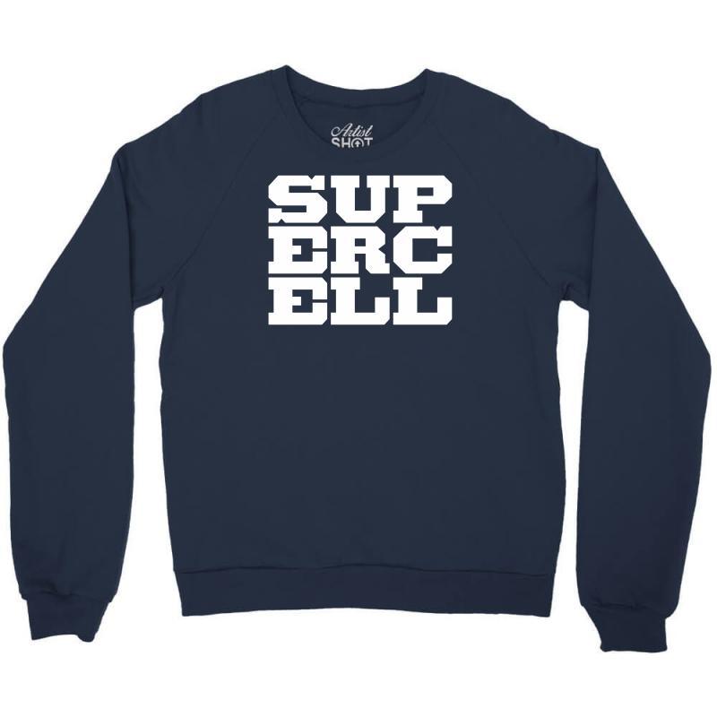 Supercell Logo Crewneck Sweatshirt. By Artistshot.