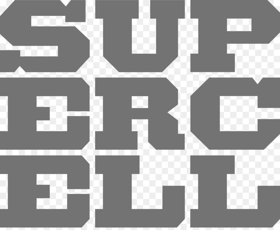 Supercell Text png download.