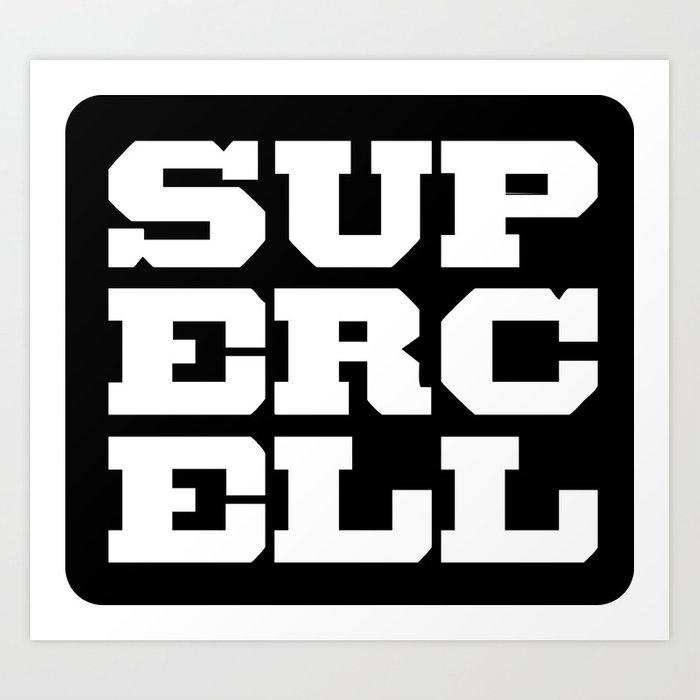 Supercell Logo Art Print by egolution.