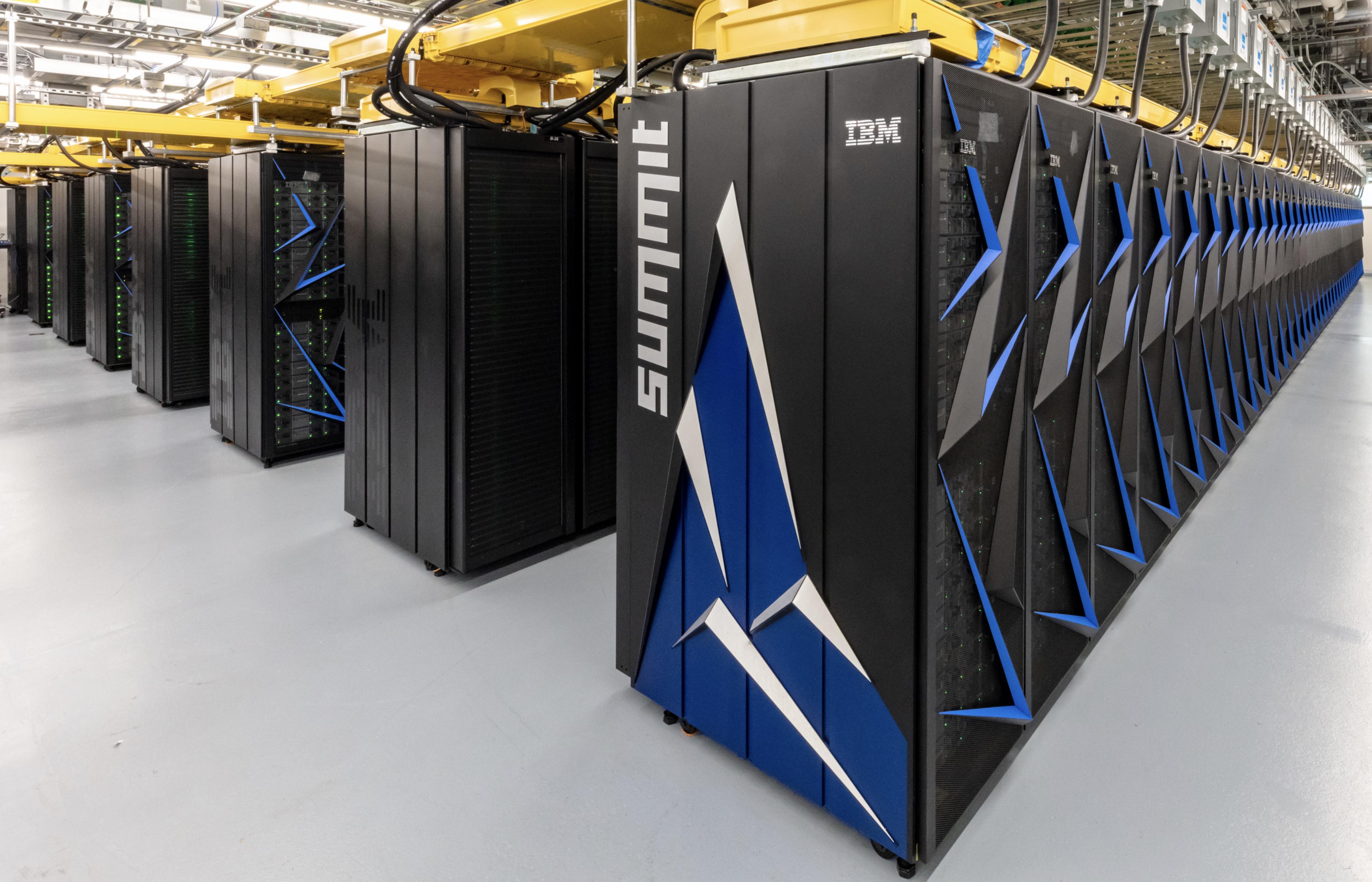 Summit supercomputer is world\'s fastest.