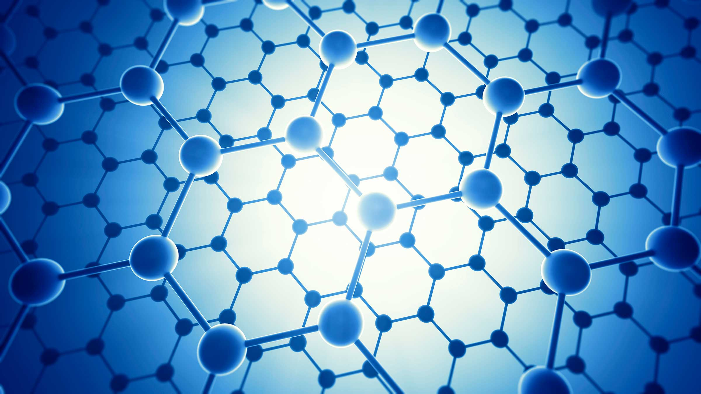 graphene nano material with macro potential