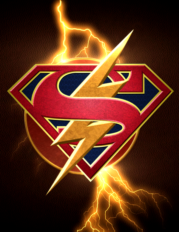 Flash Supergirl crossover logo by ArkhamNatic on DeviantArt.