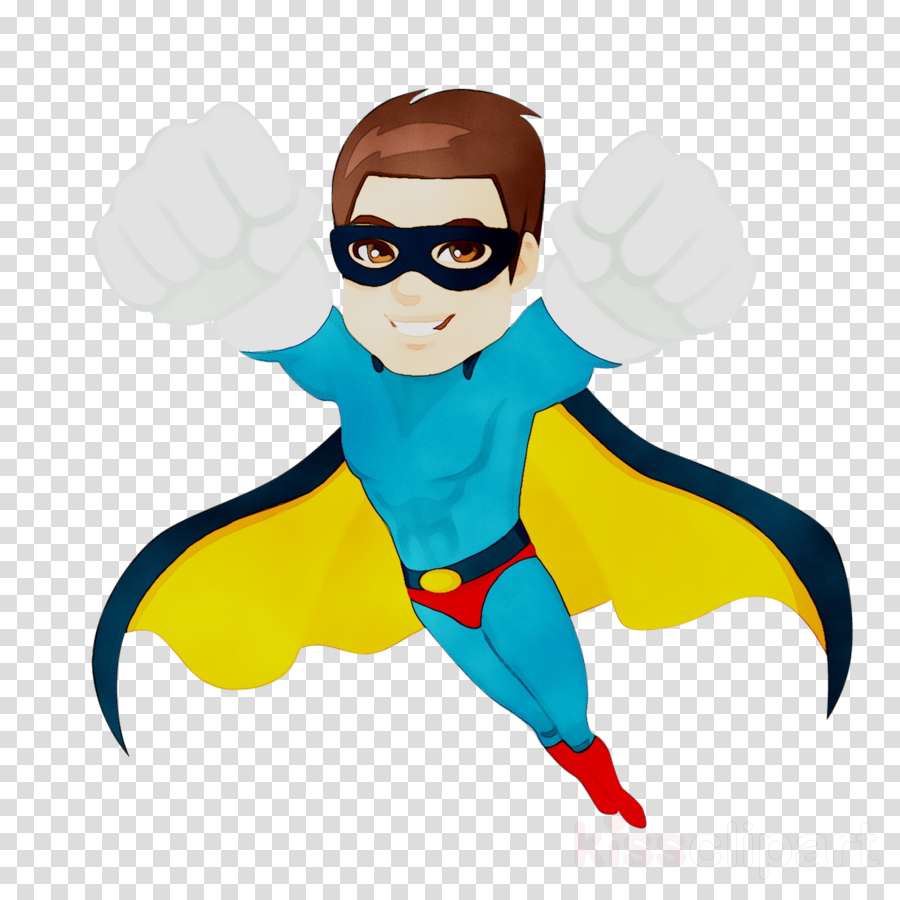 Superhero Cartoon clipart.