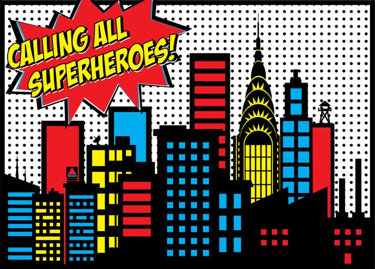 Free SuperHero City Cliparts, Download Free Clip Art, Free.