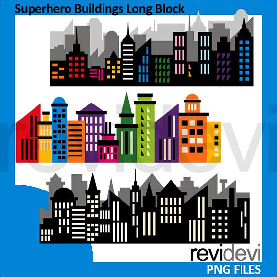 Superhero clip art.