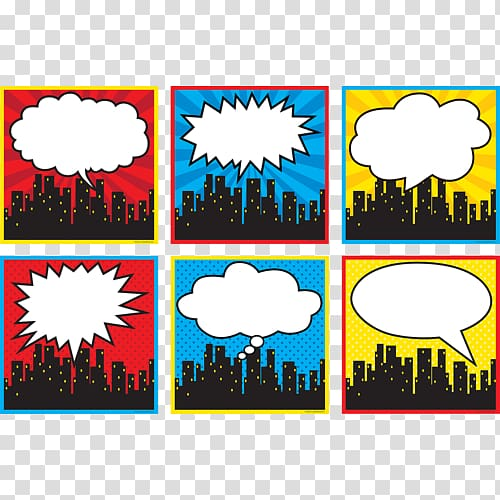 Superhero Skyline Cityscape, cityscape transparent.