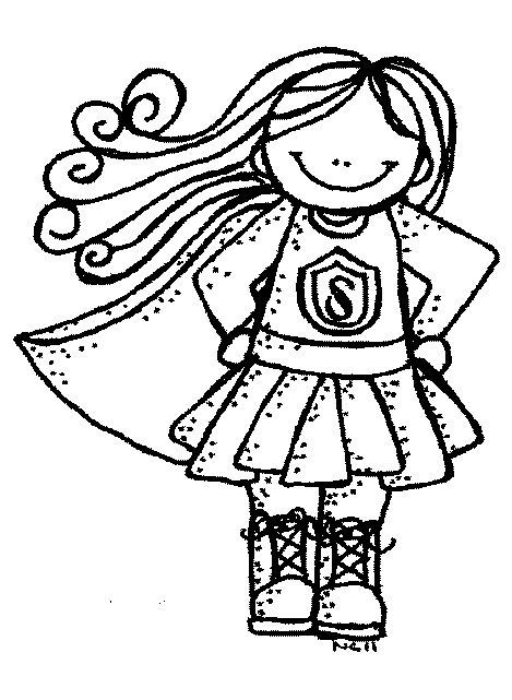 Superhero clipart black and white for teachers 2 » Clipart.