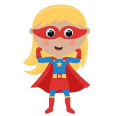 Superhero girl super hero clip art free clipart images clipartcow.