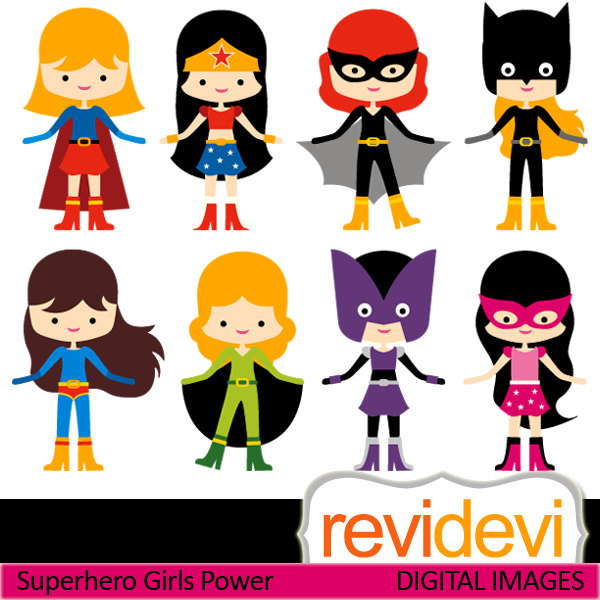 Free Superhero Girl Cliparts, Download Free Clip Art, Free.