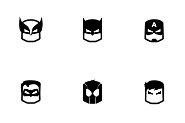 Superhero Icon Png #421382.