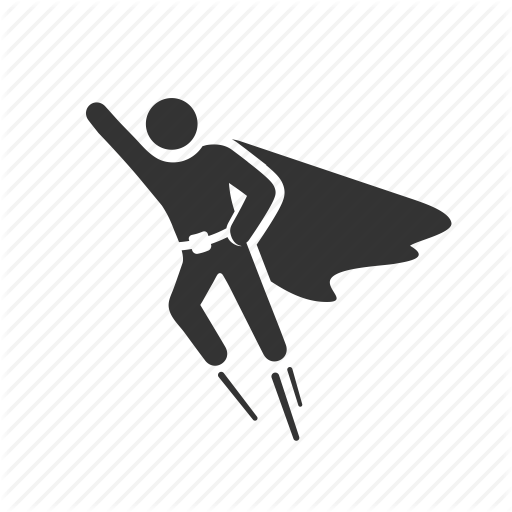Superhero Icon Png #421395.