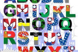 Superhero letters clipart 7 » Clipart Portal.