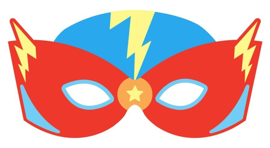 Superhero Mask Clipart.