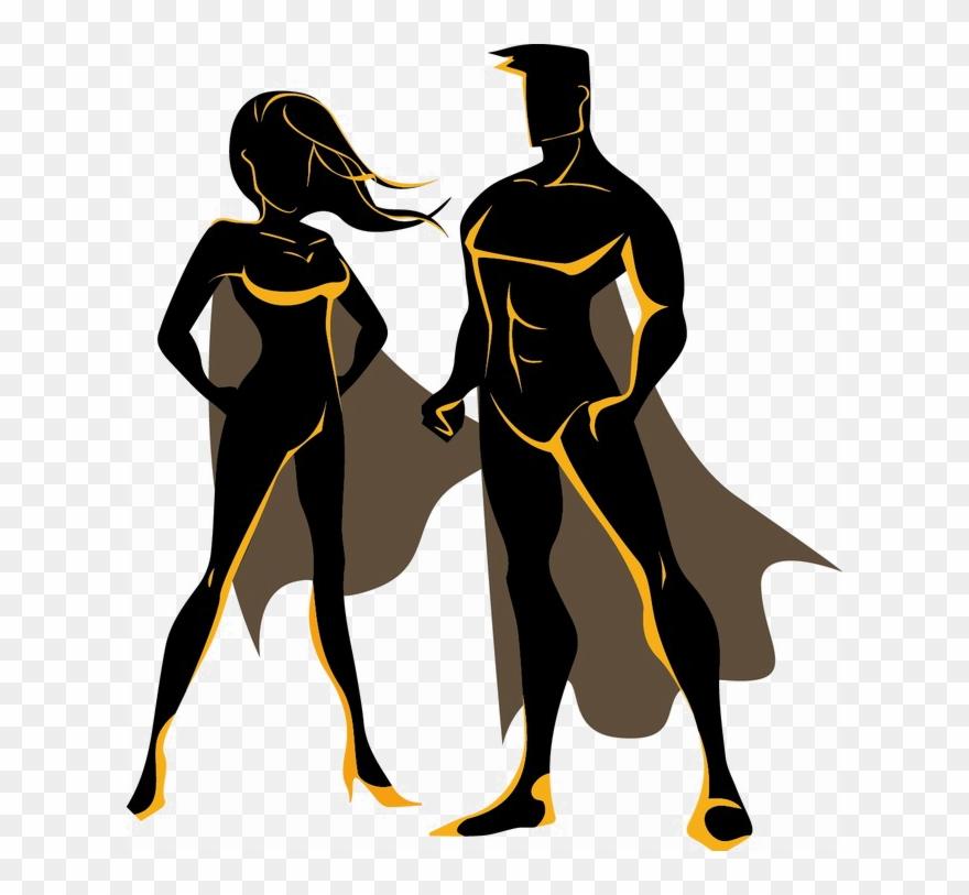 Superhero Image Background Arts.