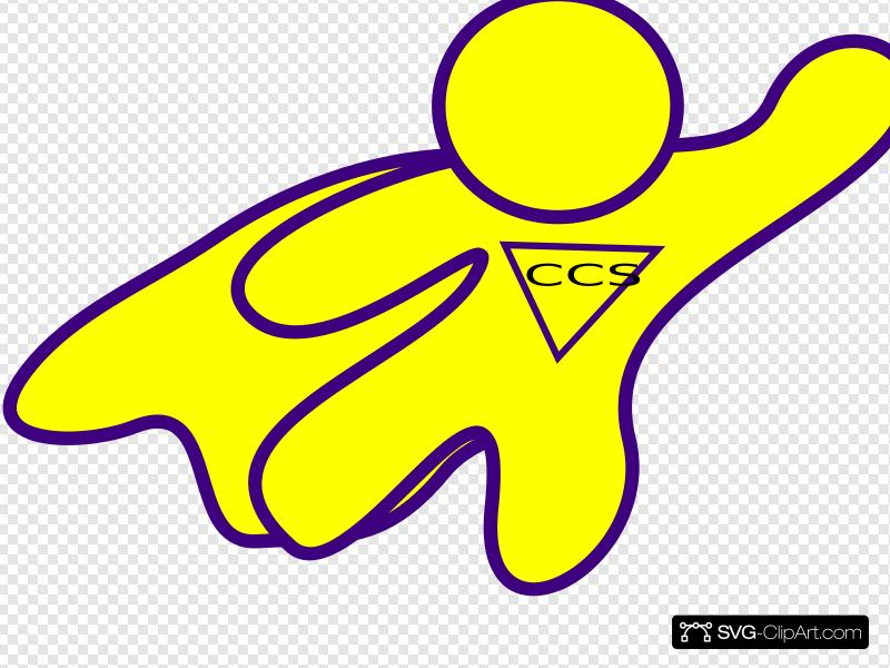 Superhero Outline Bw Clip art, Icon and SVG.
