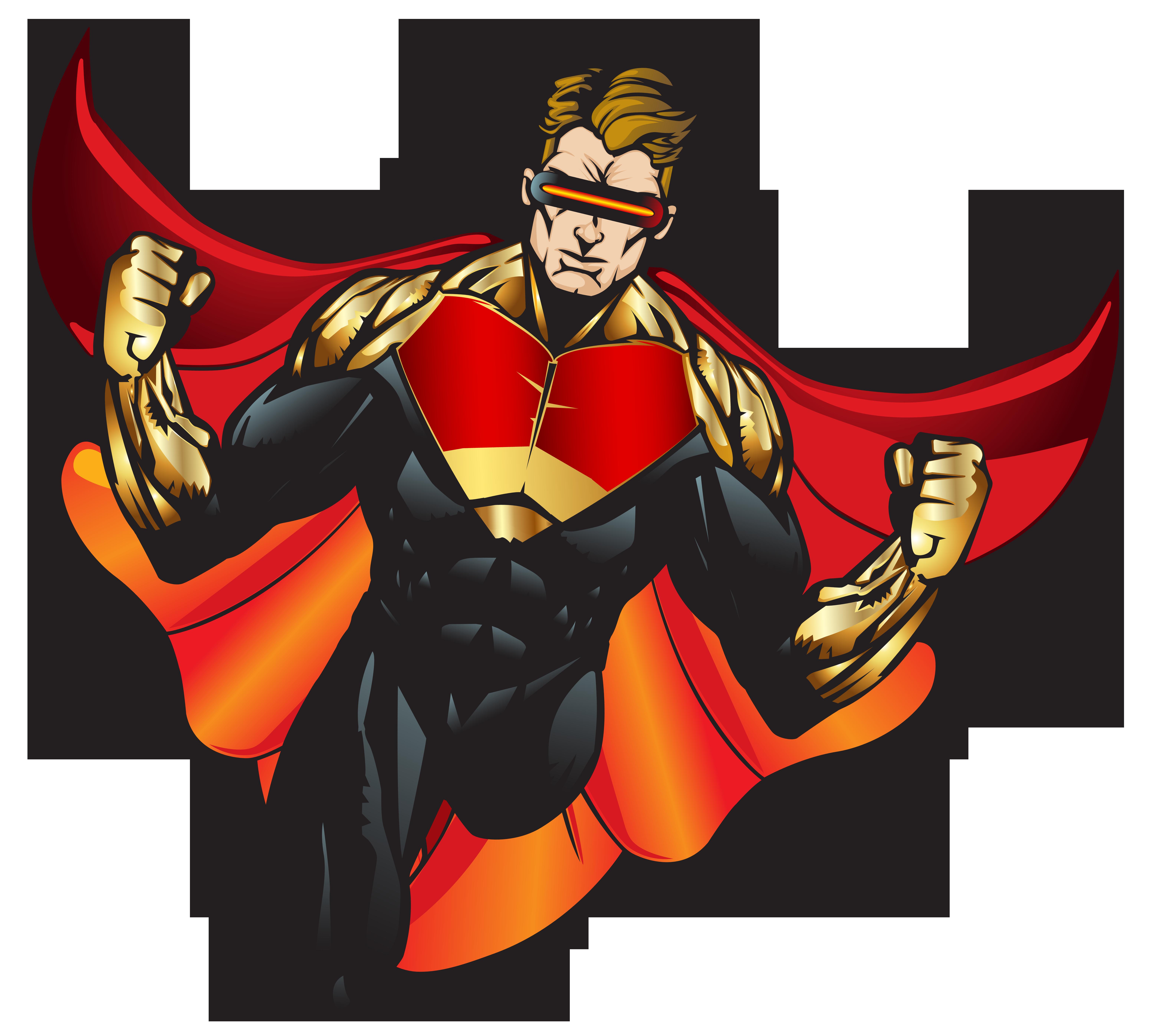 Superhero PNG ClipArt.