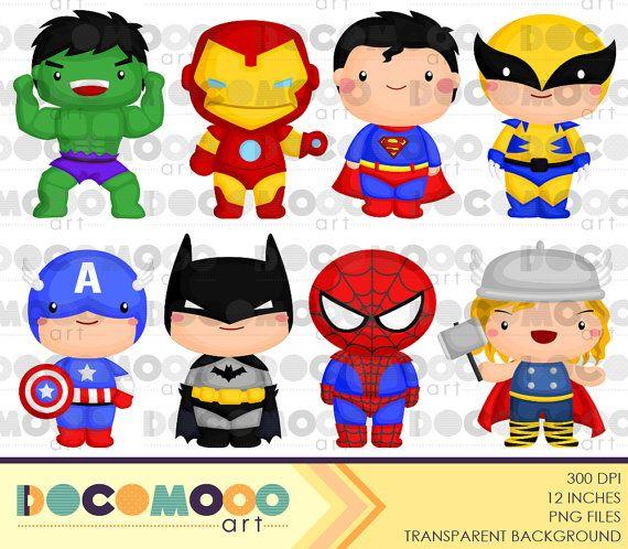 Superhero Clipart, Superhero Clip Art, Superhero Png.