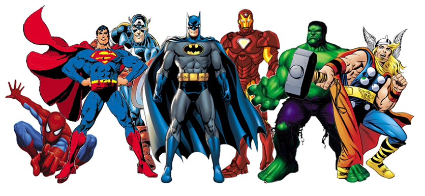 Superhero PNG Image With Transparent Background.