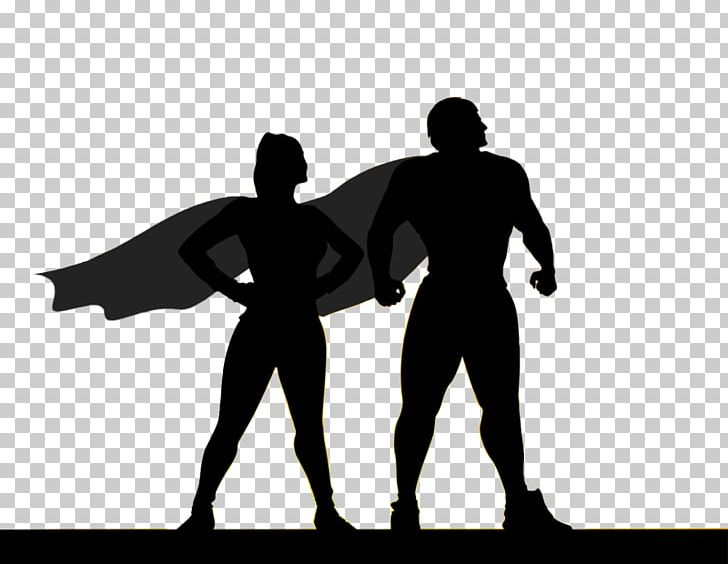 Superhero Silhouette PNG, Clipart, Arm, Art, Character.