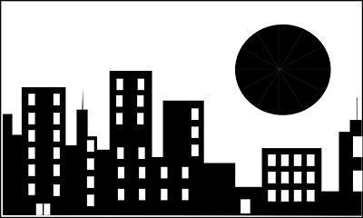 Cityscape skyline printable on city skylines superhero.