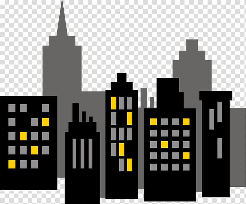 Buildings illustration, Batman Diana Prince Superhero Cake.