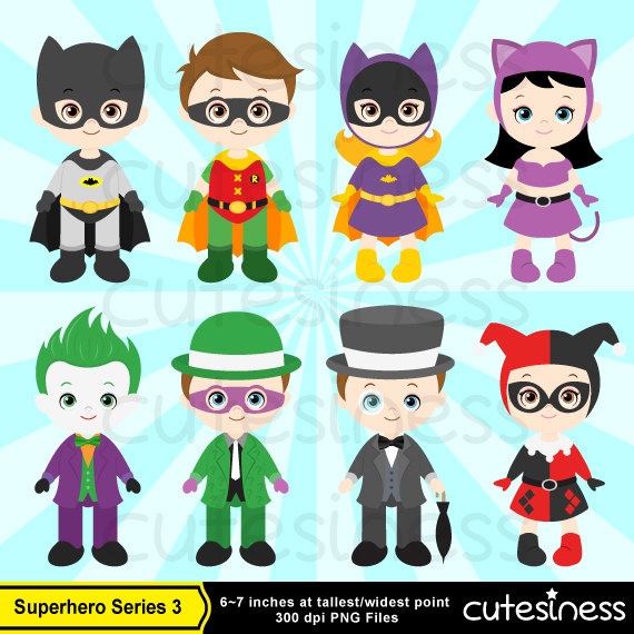 Heroes And Villains Clip Art (30+).