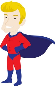 Free Superhero Clipart For Teachers.