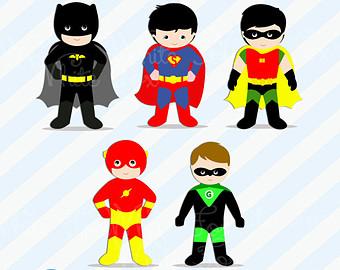 Superhero For Teachers Clipart.