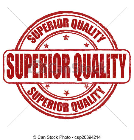 Vector Clip Art of Superior quality stamp.