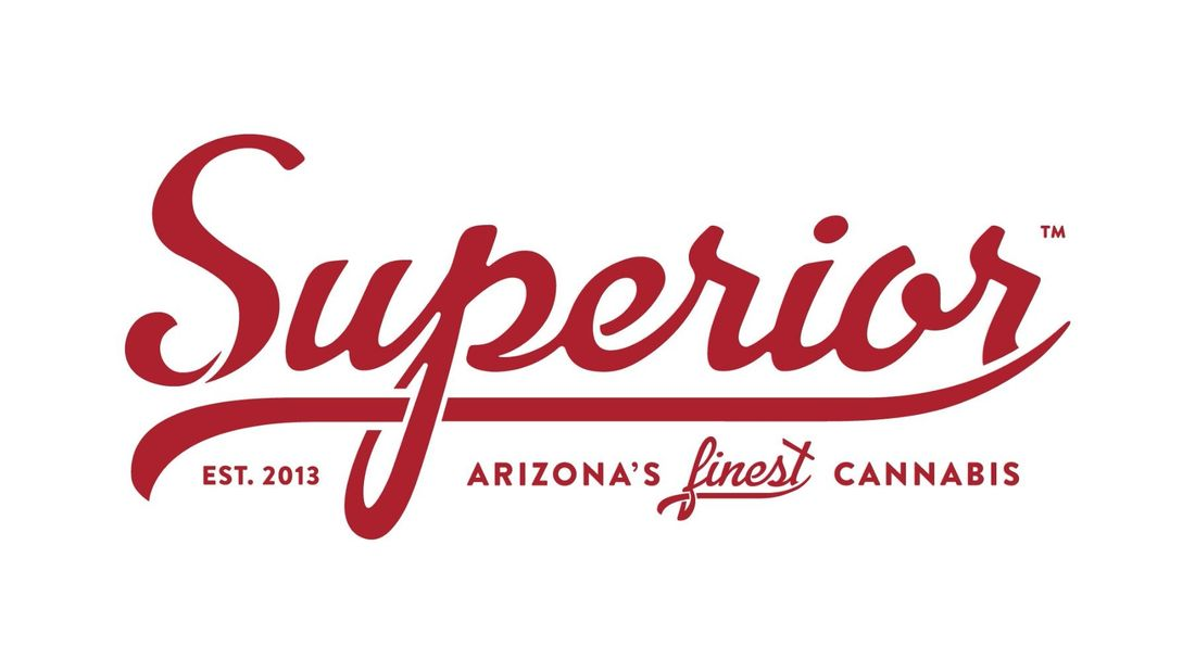 The Superior Dispensary Dispensary Menu.