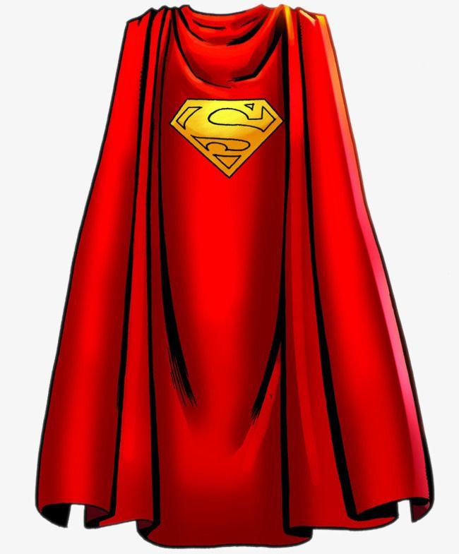 Superman Cape, Superman Clipart, Clothes, Red PNG.