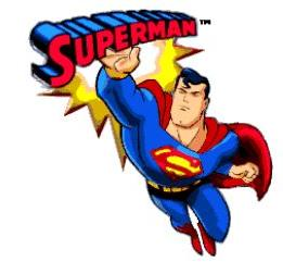Superman clipart #13