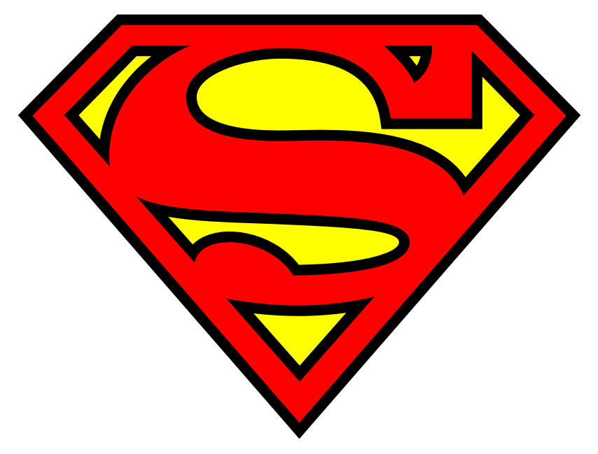 Superman clipart #1