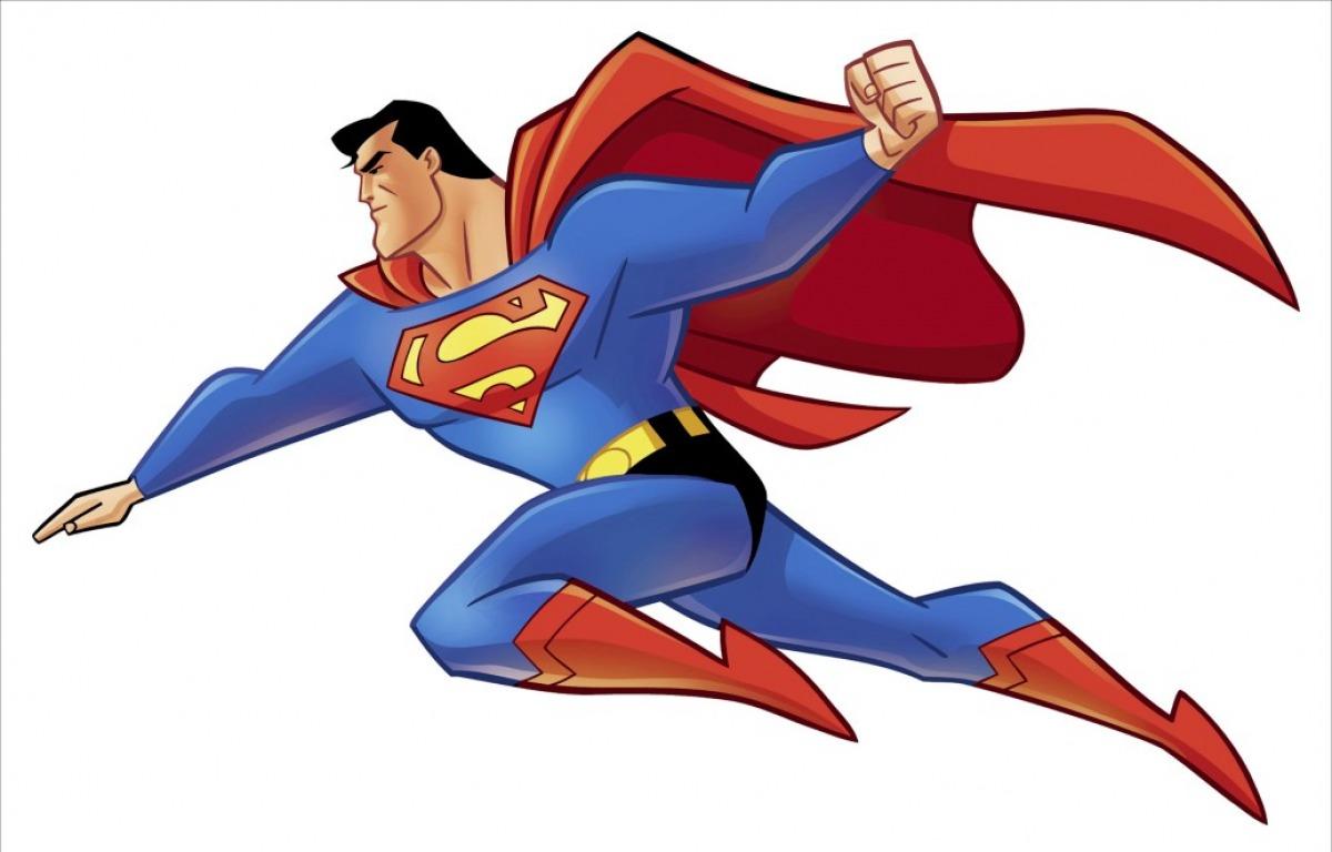 Superman clipart #6