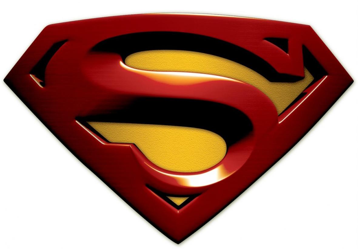 Superman Symbol Outline.