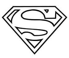 Clip art superman logo.