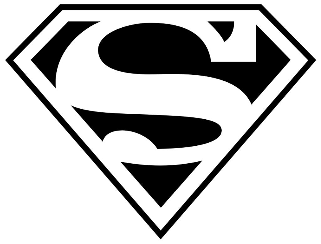 Superman Outline With Superman Clipart : Superman Outline Outline.
